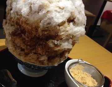 夏デートで行きたい下北沢のおすすめ老舗かき氷屋さん「しもきた茶苑大山」