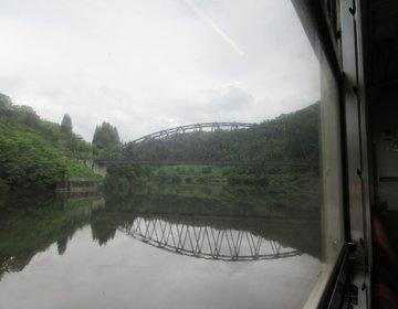 小出(新潟)~会津若松(福島)を約4時間で結ぶ。緑に囲まれた初夏の秘境×ローカル線・只見線