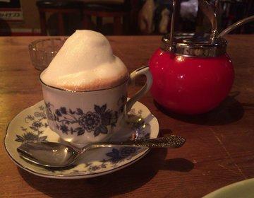 【大阪夜カフェ】本町のカフェ・福猫堂のふわもこマキアートが気になる。