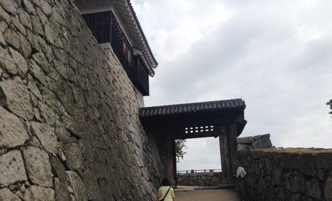 松山城 戸無門