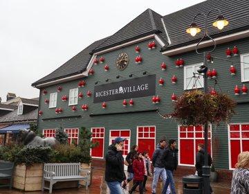 【ロンドン郊外アウトレット】120店舗以上集まる格安アウトレット、ビスタービレッジに行ってきた★!