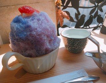 【色が変わる不思議なかき氷】行列必須!奈良・ほうせき箱で絶品かき氷をいただこう♡