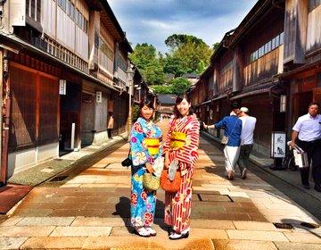 【金沢で着物ぶらり旅】情緒あるひがし茶屋街・国指定重要文化財を巡る女子旅プラン
