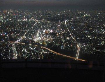 東京スカイツリーとその周辺(すみだ水族館、ムーミンカフェ)で昼から夜まで楽しめるデートプラン