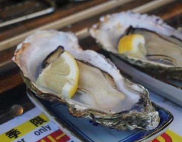 【3人家族の宮島旅行・商店街編】新鮮な絶品生牡蠣に、名物の超巨大しゃもじなど盛りだくさん!