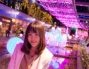 2017-2018最新版!東京ドームシティの冬のイルミネーションを全部周ってみた♡