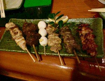 【六本木の穴場で非日常な大人の夜を】野武士焼鎌倉で絶品の焼き鳥を食べた後は椿屋茶寮へ!