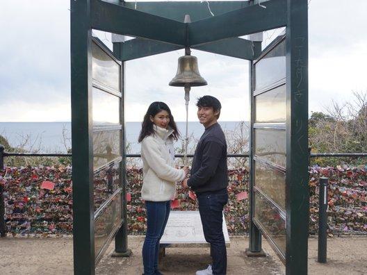 恋人の丘「龍恋の鐘」