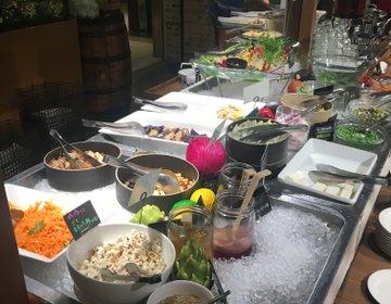 【渋谷イタリアン】とっても嬉しいサラダバー付き!シナグロ西武渋谷店でビタミンを補充してきた!!
