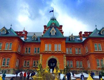 【札幌で行きたい】赤レンガが美しい北海道庁旧庁舎と手軽に利用できる赤レンガテラスのカフェ!