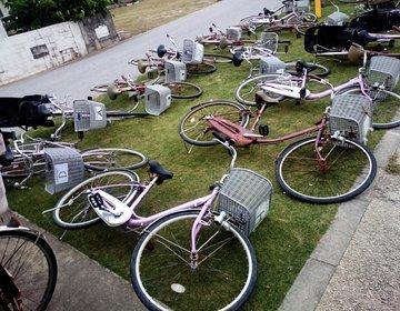 沖縄久高島観光のおすすめ自転車レンタル。一時間300円!安くて綺麗なお店はここ