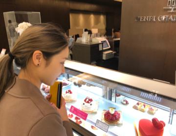 日本橋おすすめカフェ♡高島屋のアンリシャルパンティエの喫茶店