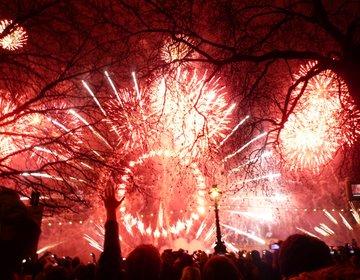 【世界のイベント】観覧車から花火が!!ロンドンのカウントダウンイベント☆