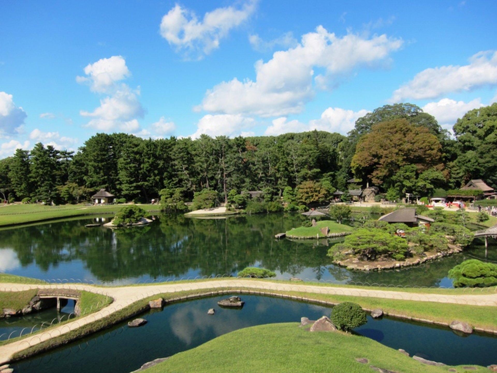 【岡山を観光&出張&グルメ】日本三名園の後楽園を見て、天守閣で備前焼をつくり、サワラを食べる