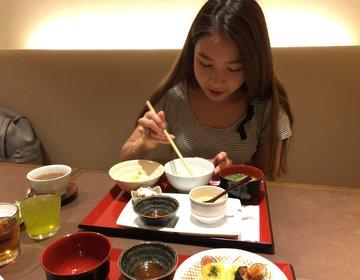京都旅♡京都祇園おすすめ宿泊先・おすすめ日本料理天ぷら八坂圓堂の朝食