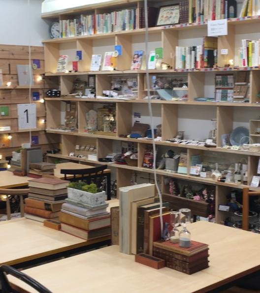 Book&Cafe stand Shinjo Gekijo