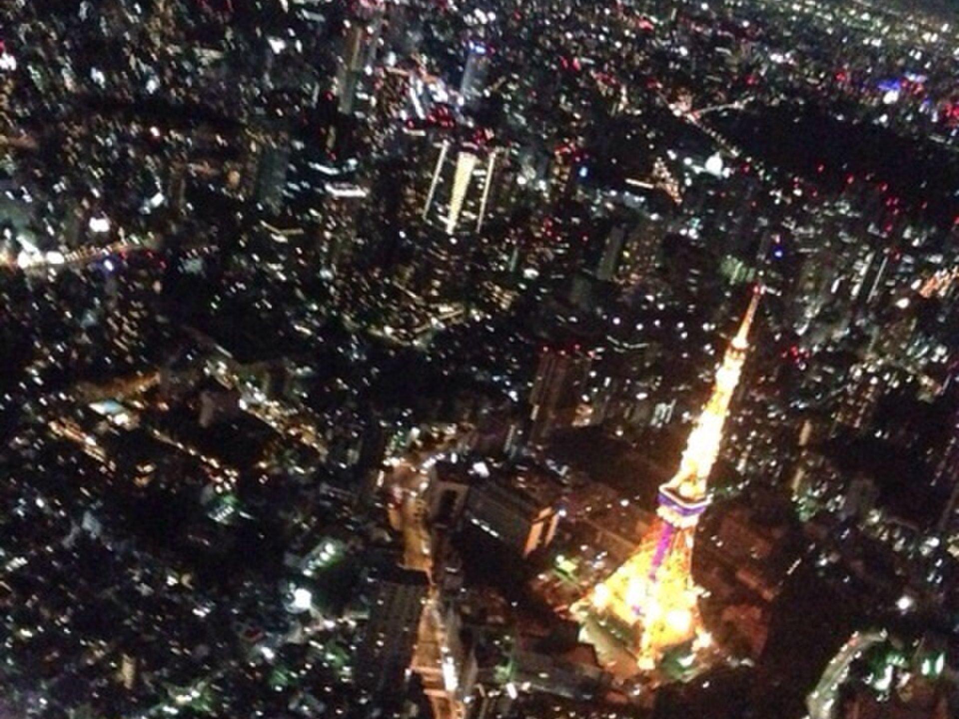 新木場発!ヘリコプターから望む東京の夜景デートからの豊洲ららぽーとで韓国料理