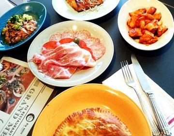 横浜デートにおすすめ!マリーン&ウォークの行列のできるパイのレストラン。コスパ良すぎ!
