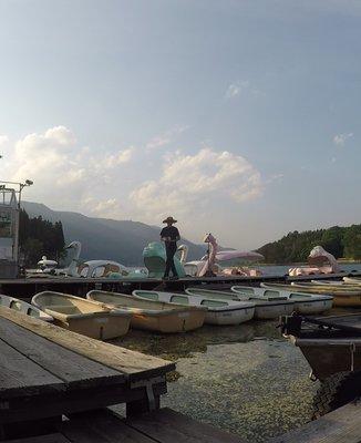 木崎湖ワカサギ釣り(木崎湖モダンボート)