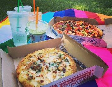 【ピザ×ピクニックデート】コスパよし!夏は湖を眺めながらのんびりまったりピクニックデートがおすすめ♪