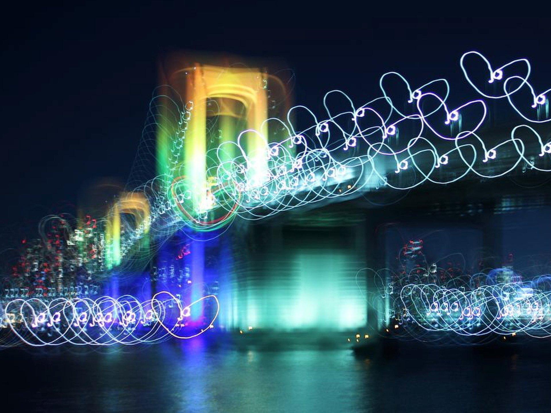 【お台場・レインボーブリッジ】<夜景鑑賞士公認>東京夜景デート・ドライブスポット