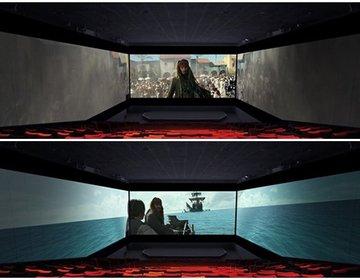 【お台場】日本初上陸した3面スクリーンScreenX新次元映像・無料スポットで終日楽しむデート