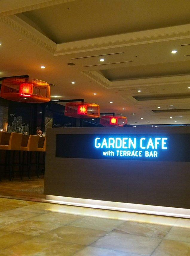 ガーデンカフェ ウィズ テラスバー