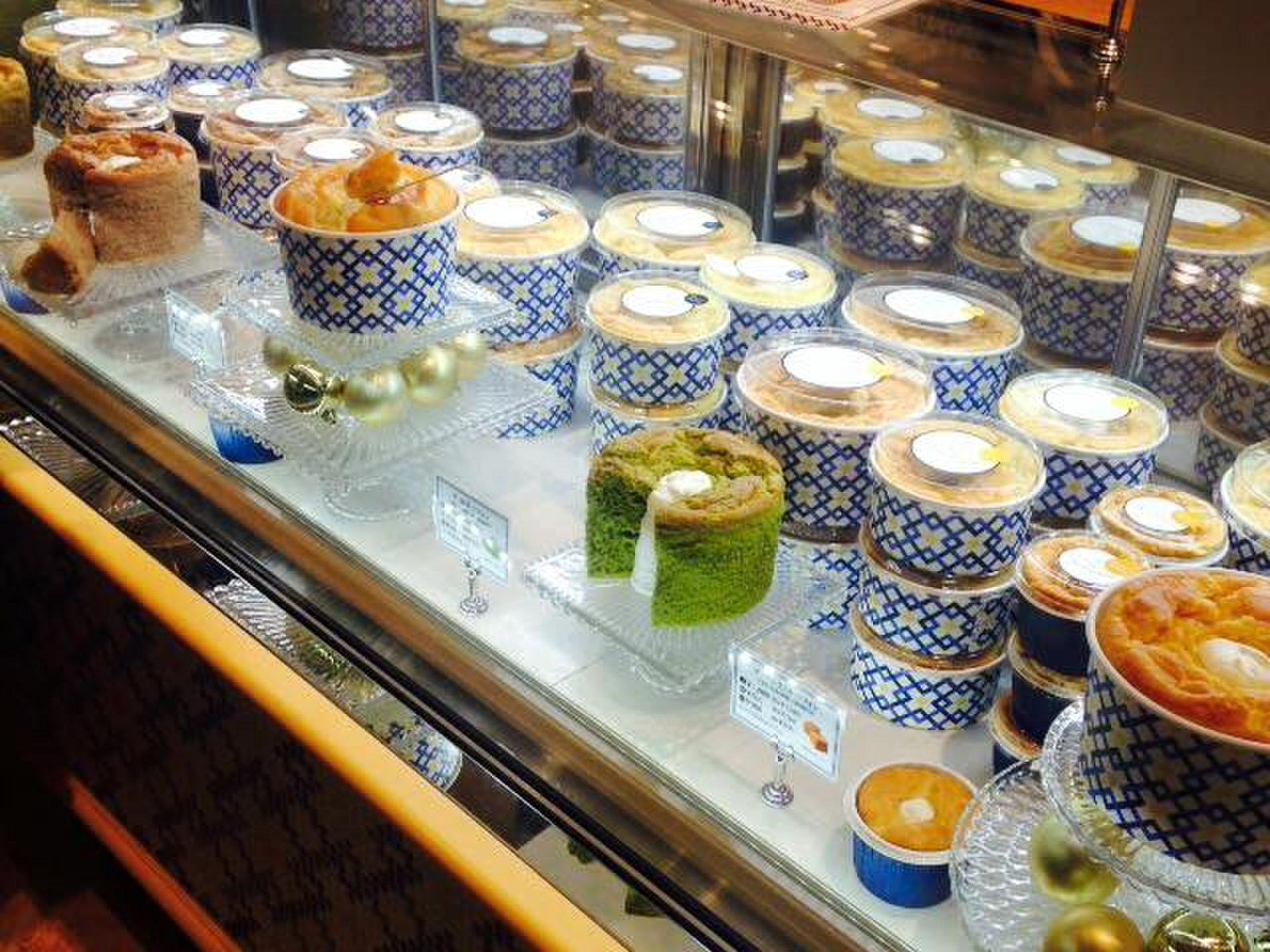 【コクーンシティ さいたま新都心】シフォンケーキ専門店「ザ・シフォンアンドスプーン」
