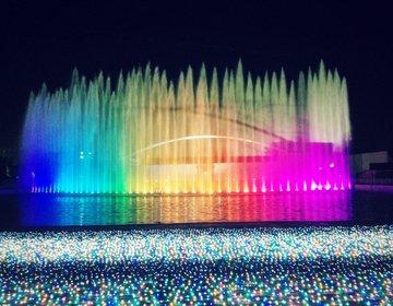 【虹のイルミネーションデート】冬は新宿から30分で3000円以下でよみうりランドで彼女とデート