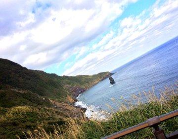 """【伊豆大島】大自然が創り出した""""神の宿る場所""""、筆島"""