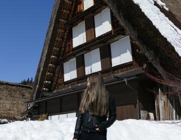 冬の白川郷おすすめ♡雪景色のフォトジェニックな世界を楽しむ&蕎麦ランチ