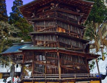 【会津地方の信仰の山へ】会津若松へ行ったら絶対行きたい!さざえ堂もある飯盛山!