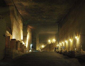 【栃木旅】今年の夏は涼しいところへ…地下に広がる巨大宮殿?「大谷資料館」♪
