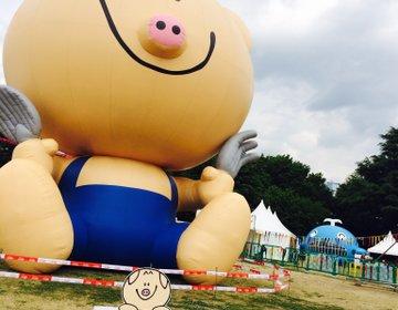 いっぱい食べれていっぱい遊べる!立川昭和記念公園のまんパクへGO〜帰りにIKEAも寄らなきゃ♪