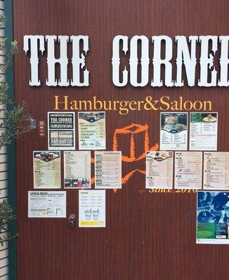 ザ・コーナーハンバーガー&サルーン