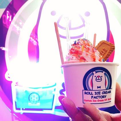 ロールアイスクリームファクトリー 道頓堀店