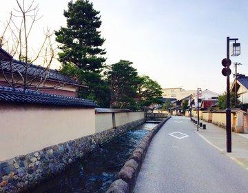 【観光するなら早朝がおすすめ】金沢の主要観光地を巡る早朝の散歩コース!