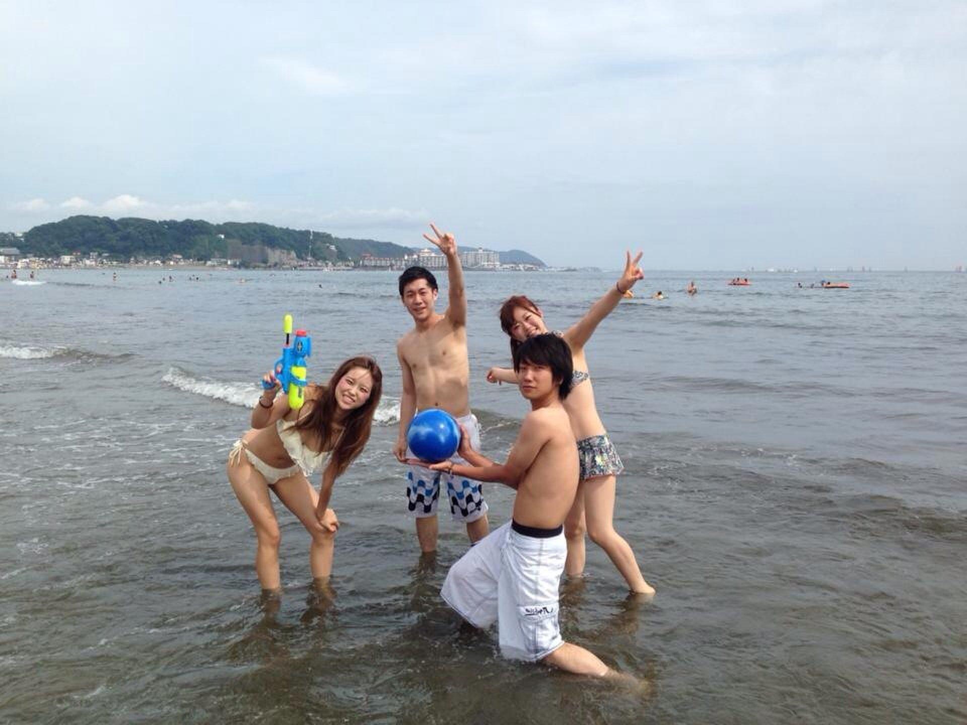 夏のデートにもおすすめ!湘南の由比ヶ浜で海水浴!海の家でかき氷!駐車場の情報も!