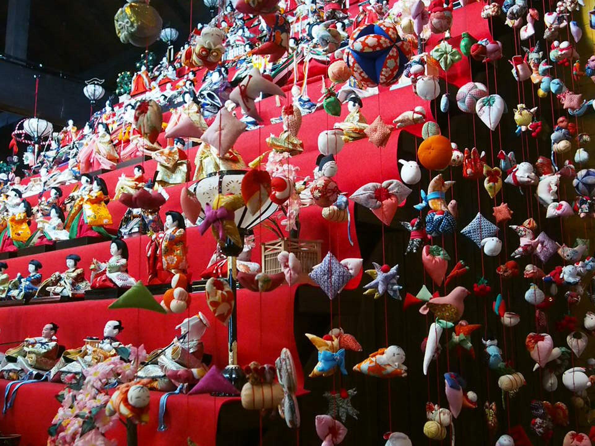 【anan美人総研】週末でも行けちゃう!伊豆旅でのんびり楽しむ♡雛のつるし飾り!伊豆稲取☆