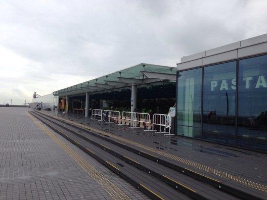 羽田空港 国内線第2旅客ターミナル 展望デッキ