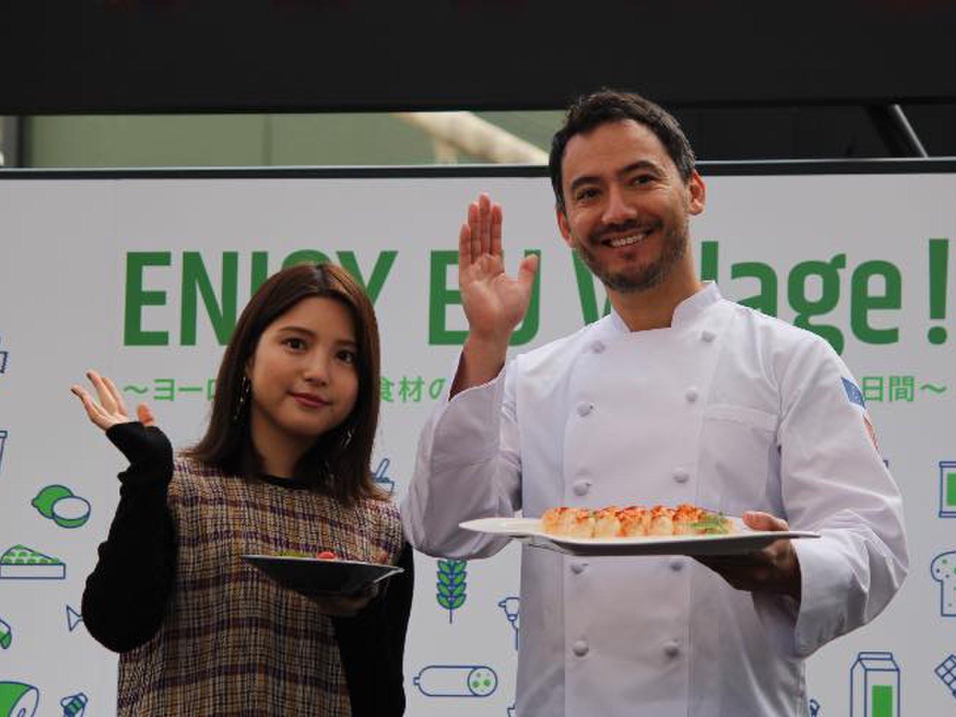 料理研究家ベリッシモ氏のワークショップも【期間限定イベント】ヨーロッパと日本のペアリングメニュー提供