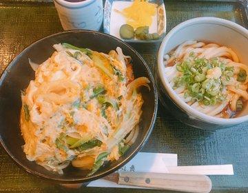 カツ丼好きにはたまらない!うどん屋さんならではの和風ダシがポイント「いづも庵」