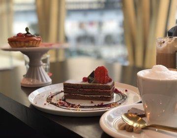 インスタ映え♡銀座BALLYCAFE♡東急プラザにお勧めスイス期間限定カフェ
