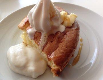 """ららぽーと豊洲の""""バタープレミアム""""で話題のふわっふわのスフレパンケーキを食べてみた!"""