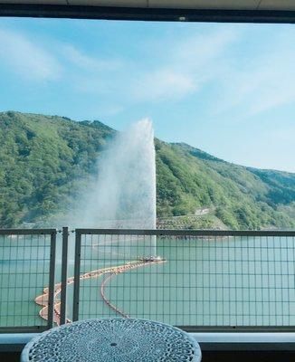 寒河江ダム展望広場