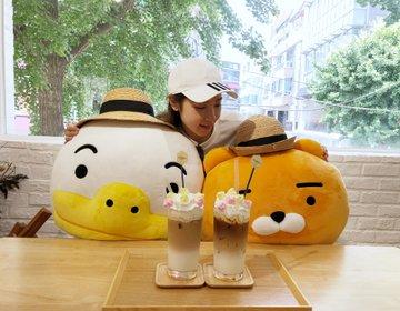 韓国おすすめコスメ・カロスキル『SKIN FOOD』インスタ映えカフェ