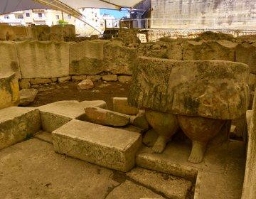 マルタの世界遺産を巡ろう  バレッタ観光の後はマルタ最大の岩の神殿タルキーンへ!
