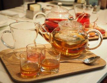 【ゆーきの実食レポ】帝国ホテル東京「パークサイドダイナー」にてこだわりのハーブティー2種