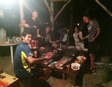 最高におすすめ♫テニス、川遊び、BBQにアウトレット〜週末ドライブで北軽井沢話題のコテージに泊まる