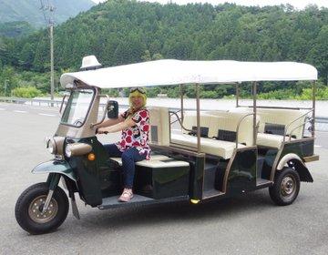 普通免許で乗れる!トゥクトゥク・レンタカー【高知県津野町】